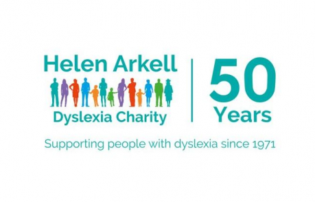 Helen Arkell Dyslexia Charity 50th anniversary logo