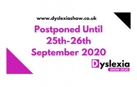 We'll be there at The Dyslexia Show 2020!