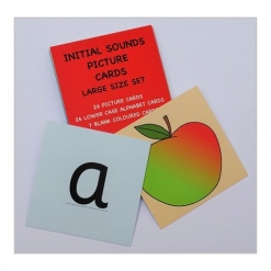 Initial Sounds Alphabet - Large Picture Cards