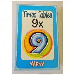 Flip it Card Pack - Times Tables x9