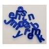 Magnetic Blue Plastic Letters Pack