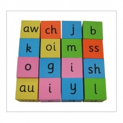 Dice - Silent dice word game set