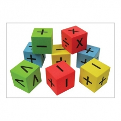 Dice - Silent Symbol Pack of 8