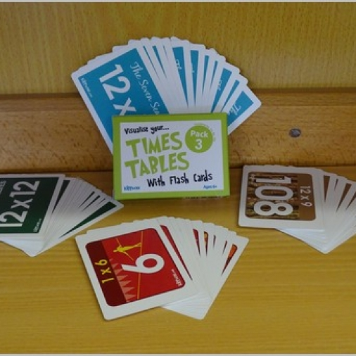 Kippson Times Tables Cards Pack 3