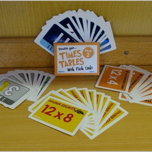 Kippson Times Tables Cards Pack 2