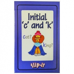 Flip it Card Pack - Initial 'c' and 'k'