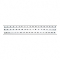 Number Line 1-100 (3 Pieces)