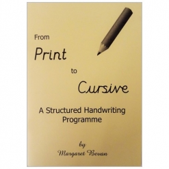 Print to Cursive Handwriting Books