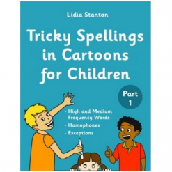 Tricky Spellings in Cartoons for Children (Part1)